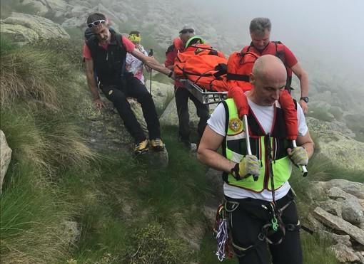 Malore in quota, salvato dal Soccorso Alpino