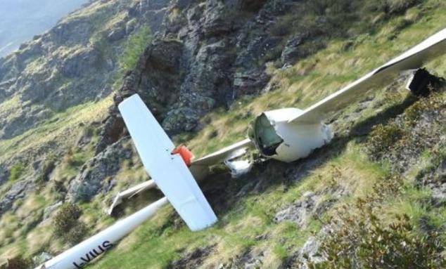 Un aliante si schianta su una montagna nel Vercellese, un morto