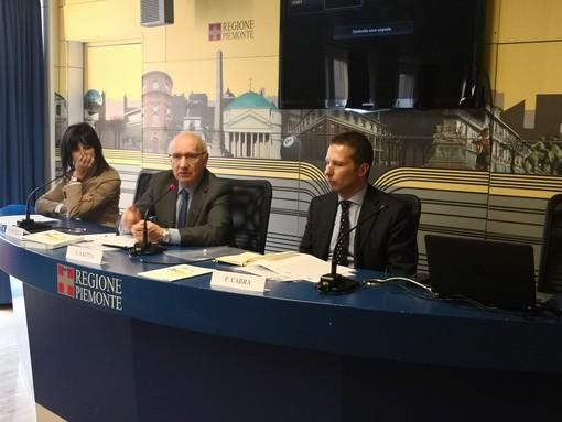 LA CONFERENZA STAMPA SUI DATI DEI TUMORI IN PIEMONTE, OGGI A TORINO, CON L'ASSESSORE SAITTA
