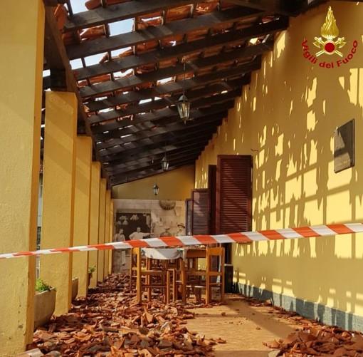 Disastro a Montonero, danni a tutti gli edifici