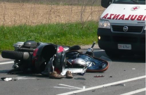 Incidente in moto: vercellese finisce in ospedale a Biella