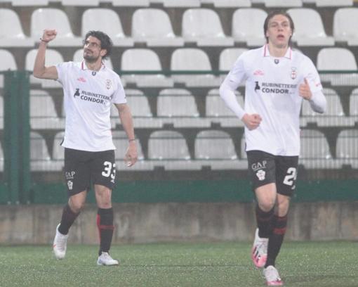 Pro Vercelli-Sudtirol 2-1 ... all'ultimo respiro