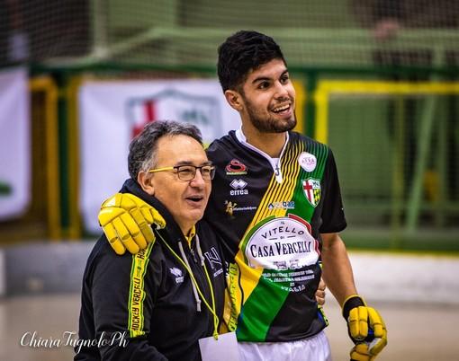 Mister Paolo De Rinaldis con Juan Moyano in questa foto di Chiara Jett Tugnolo.