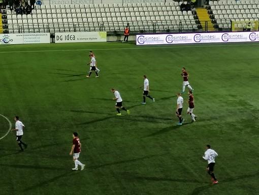 Pro Vercelli-Arezzo 1 a 1. Pari d'orgoglio