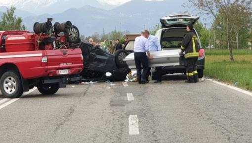 Due morti nello scontro tra un'auto e una moto