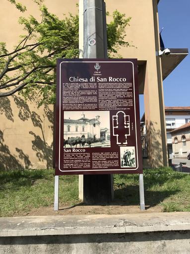 Qui sorgeva l'antica chiesa di San Rocco