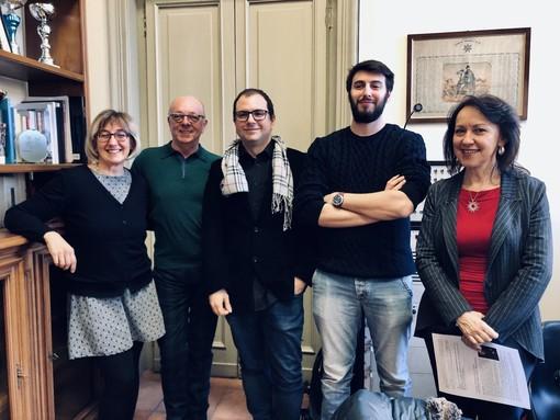 Da sinistra: Cinzia Ordine, Giuseppe Graziano, Sergio Sorrentino, Simone Morellini, Claudia Ferrero