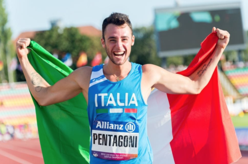 Marco Pentagoni ai Mondiali Paralimpici