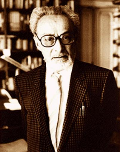 """""""Primo Levi"""". Con licenza Pubblico dominio tramite Wikipedia - https://it.wikipedia.org/wiki/File:Primo_Levi.gif#/media/File:Primo_Levi.gif"""