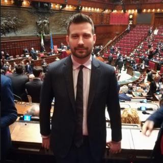 L'onorevole Paolo Tiramani