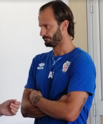 Angelo Gilardino intervistato dalla Rai prima della partenza per Ascoli
