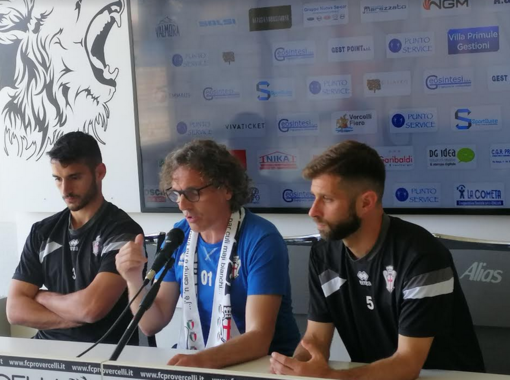 Germano, Grieco, Mammarella: ultima conferenza stampa dell'annata calcistica