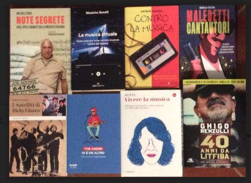Otto libri di musica Pop