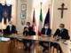foto dell'incontro promosso da Riva Vercellotti con i sindaci del vercellese, AIPo, ANCE, Provincia e l'Assessore Marco Gabusi, tenutosi nel pomeriggio del 3 maggio scorso a Borgo Vercelli