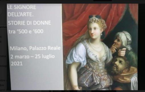 """Visita virtuale alla mostra """"Le signore dell'arte tra '500 e '600"""""""
