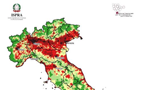 Vercelli, triste primato: più consumo del suolo, meno verde