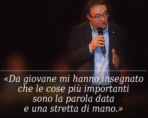 Angelo Dago: «Ringrazio chi mi ha accolto e sostenuto»