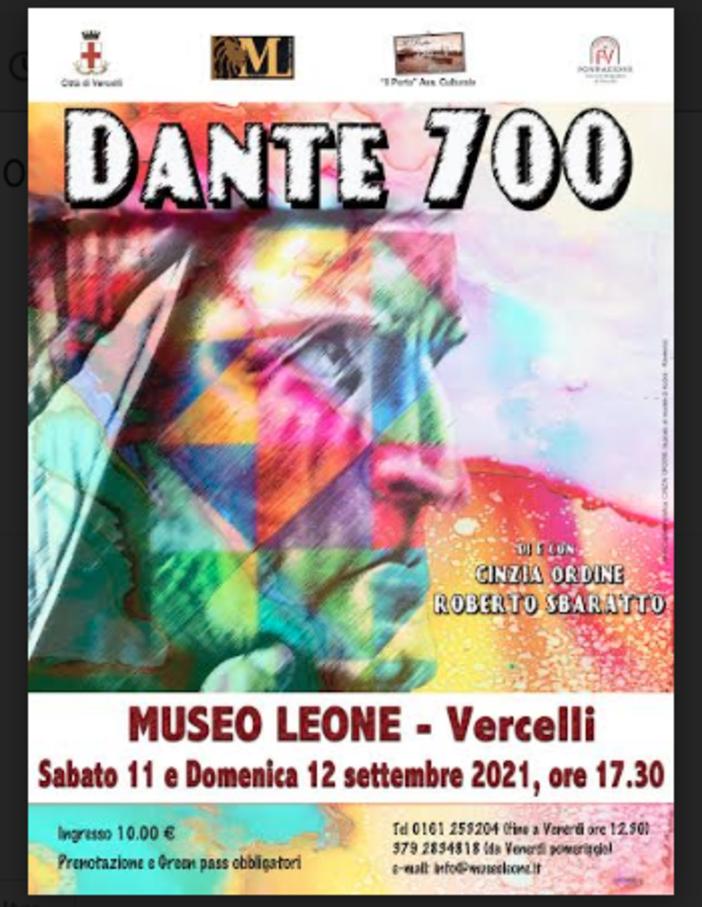 Dante 700: omaggio al più grande