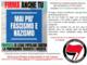 Raccolta firme contro la propaganda fascista