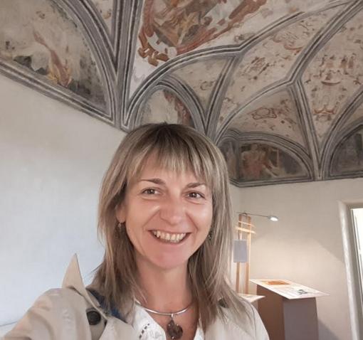 Marcella Compagnoni, candidata con i SiAmo Vercelli