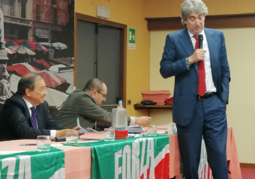 La presentazione della lista Forza Italia per Corsaro