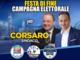 Il presidente Cirio per la festa finale di Corsaro