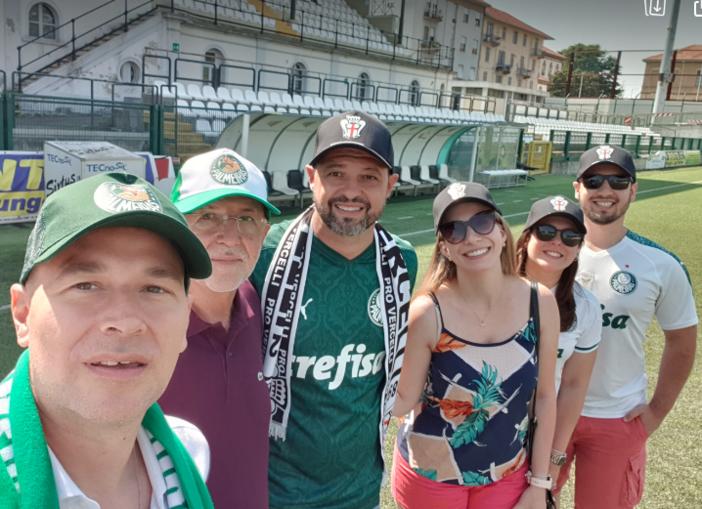 Continua il legame tra le tifoserie di Pro Vercelli e Palmeiras