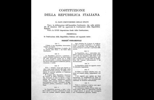 La Costituzione (2.a parte): i Principi fondamentali