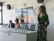 Vittoria Marando, responsabile della comunicazione, presenta il cda (Semerieri, Angiolini, Pinciroli)