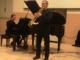 Gabriel Cassone e la sua tromba, al concerto del Lagrangia (foto Cinzia Ordine)