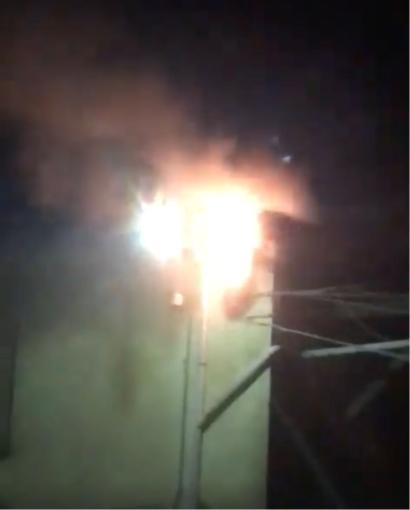 A fuoco una centralina elettrica, problemi ad Asigliano