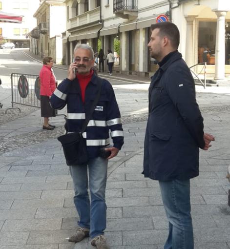 Il sopralluogo svolto da Arpa sabato a Borgosesia