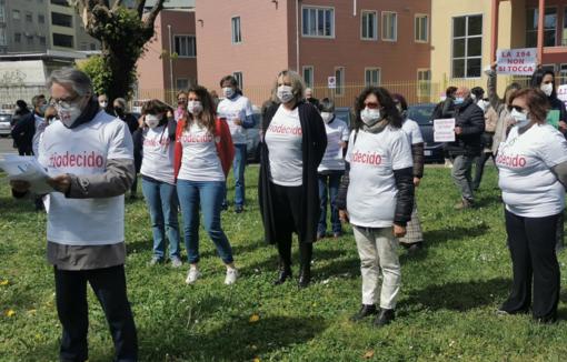 «Indietro non si torna»: alla Piastra flash mob in difesa dell'aborto