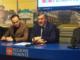 Da sin: Avanzi, Cirio, Icardi, Albera alla presentazione del progetto