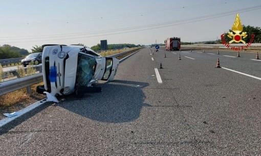 Incidente a Vicolungo: 4 feriti e traffico in tilt