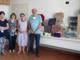 Nella foto da sinistra: Maria Grazia Ferraro, responsabile culturale, Mirosa Moro, vicepresidente, e Linda Pittarella, presidente Avulss con Franco Lavagnino dell'associazione Santa Teresa