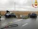Due auto fuori strada: ci sono feriti