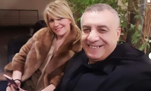 Franco Barillà con la compagna Bea