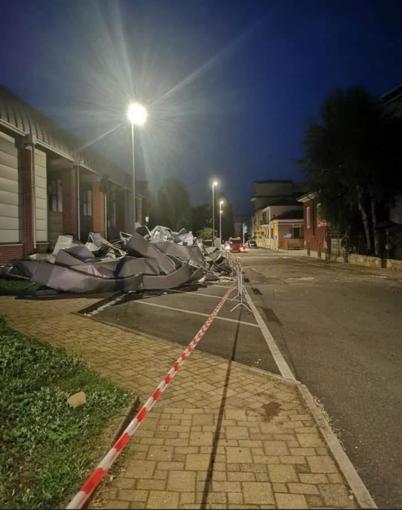 Riaperta sabato notte via degli Zuavi. Ora la conta dei danni al PalaBertinetti - FOTO E VIDEO