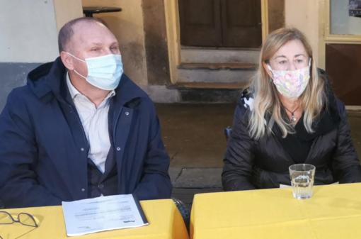 Piero Boccaltte e Renata Torazzo (SiAmo Vercelli)