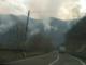 Boschi in fiamme, strada chiusa e primi evacuati - foto