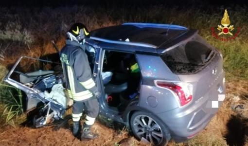 Incidente a Busonengo: 4 persone in ospedale. Un ferito è in codice rosso
