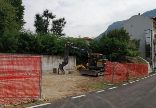 Borgosesia, nuovo parcheggio in Via Vecchia per Grignasco