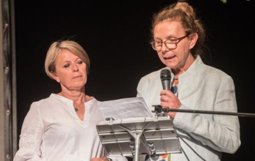 da sin: Emanuela Buonanno e la presidente Laura Cerra
