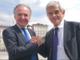 Luigi Bobba (candidato nel listino) e Sergio Chiamparino