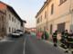 L'intervento dei Vigili del Fuoco a Balocco
