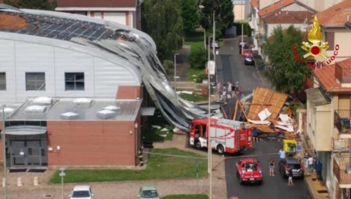 PalaBertinetti scoperchiato dal vento, danni per quasi 300mila euro