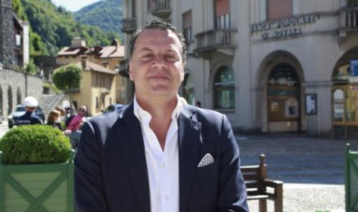 Il presidente Eraldo Botta