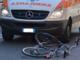 Incidente in bici: vercellese in ospedale