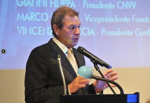 Il presidente di Cnvv, Gianni Filippa